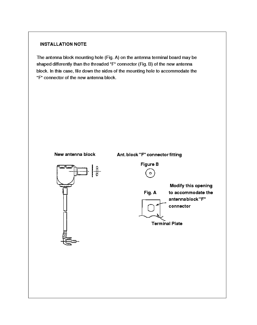 SHARP N R S A C E SERIES TV-062 TECH BULLETIN service manual (2nd page)