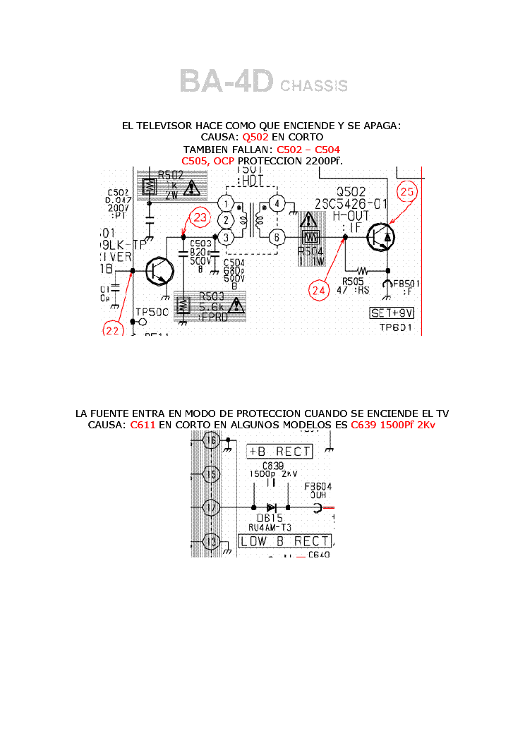 SONY CHASIS BA-4D TRAINING service manual (2nd page)