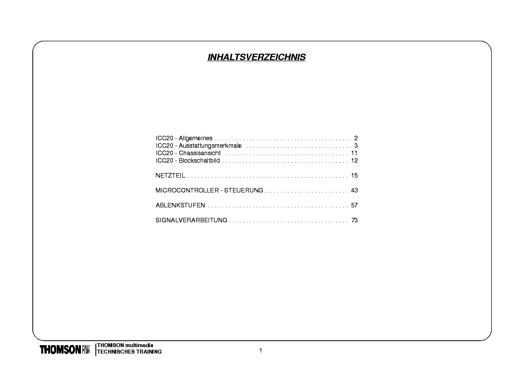 THOMSON ICC20 INFO service manual (1st page)