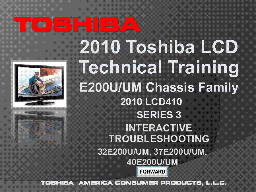 toshiba lcd television technology training manual service manual rh elektrotanya com EEPROM Programmer EEPROM Programmer