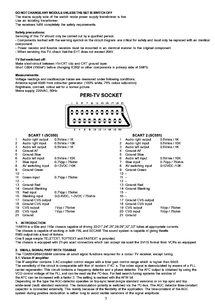 AK19PRO SERVICE ADJUST service manual (2nd page)