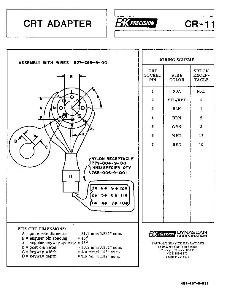 bk precision 1760a service manual