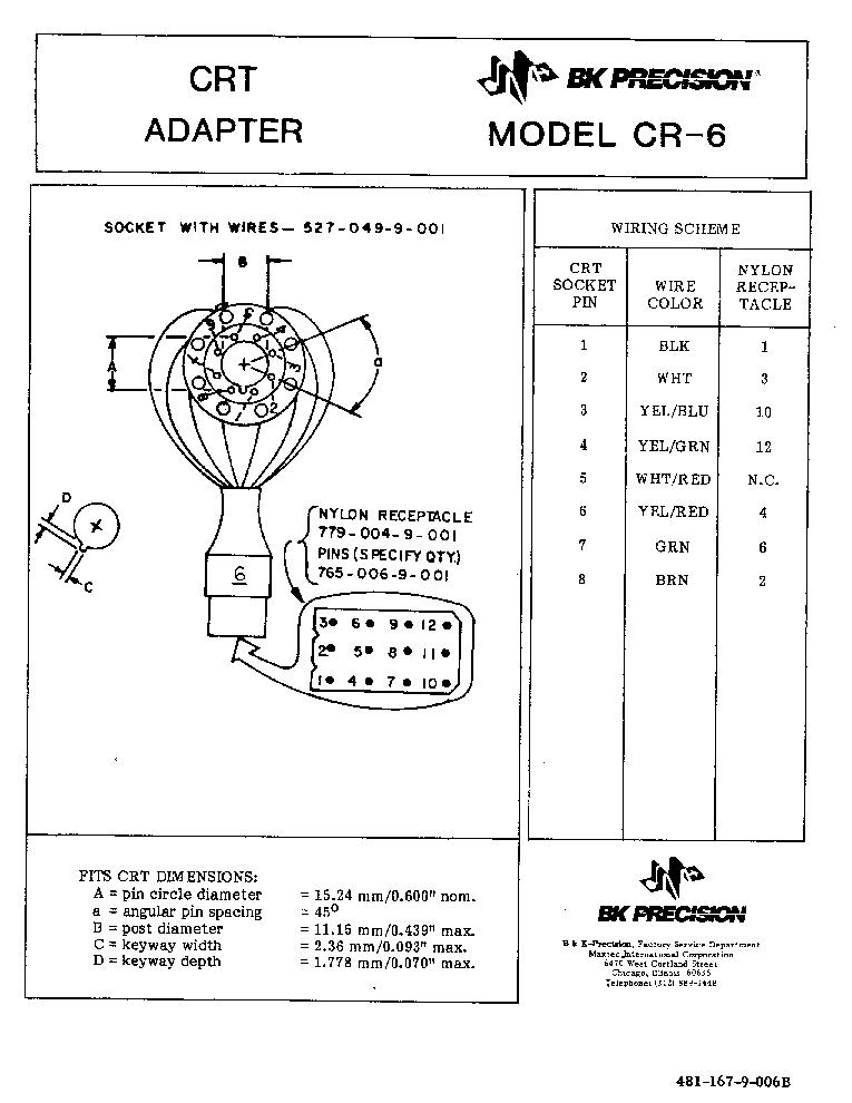 bk precision 2120b service manual