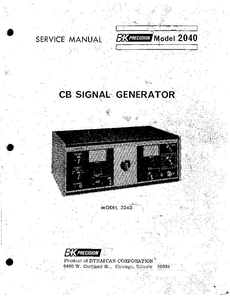 bk precision 2040 cb signal generator sm service manual download rh elektrotanya com bk precision 3011b service manual bk precision 1666 service manual