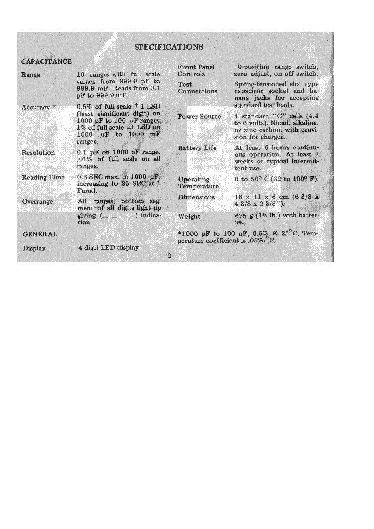 BK PRECISION 820 SM Service Manual download, schematics, eeprom