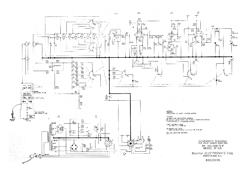 Rf Voltmeter Schematic Rf Free Engine Image For User