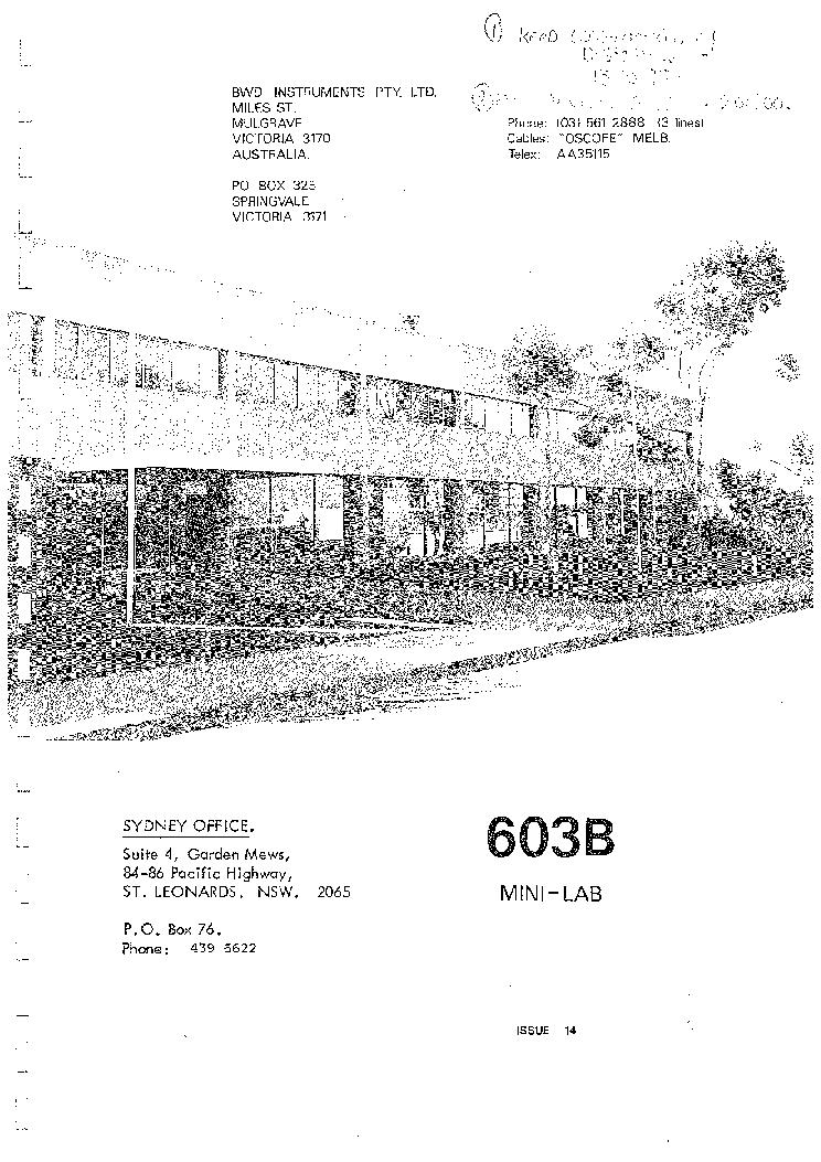 bwd 603b 14 mini