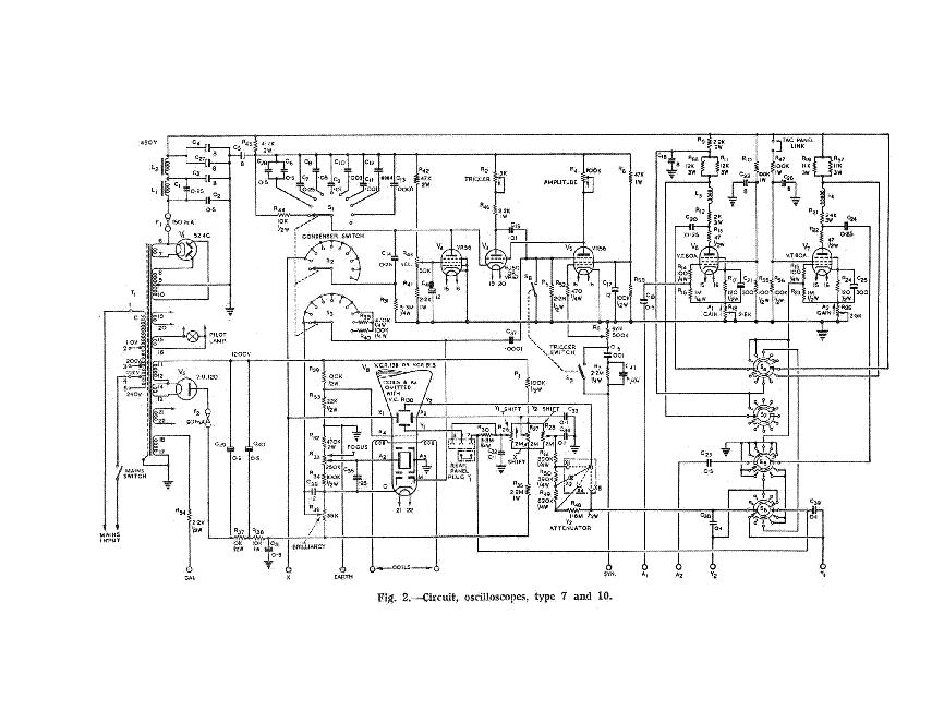 cossor 1035 oscilloscope sm service manual download