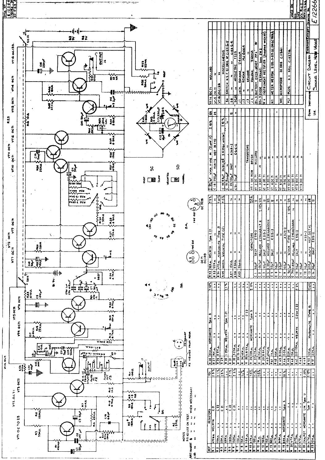 dawe 1400f sound level meter sch service manual download