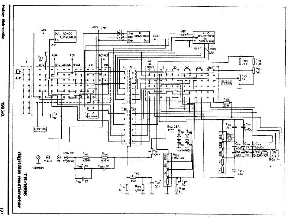 Ремонт мультиметра m266f своими руками 40