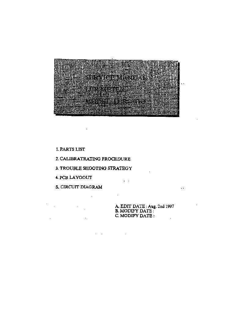 LUTRON LCR-9063 LCR METER Service Manual download, schematics ...