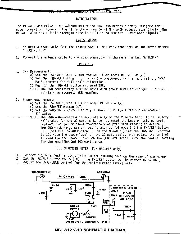 Mfj 259b manual