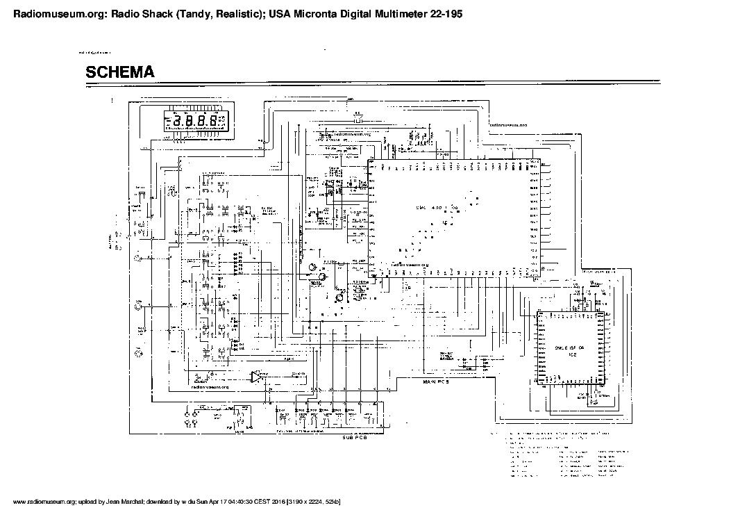 Micronta Radio Schack 22