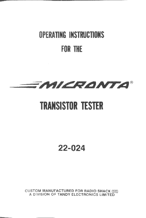 micronta_radio schack_22 024_transistor tester_sm.pdf_1 micronta 22 204 analog mm sch service manual download, schematics  at gsmx.co