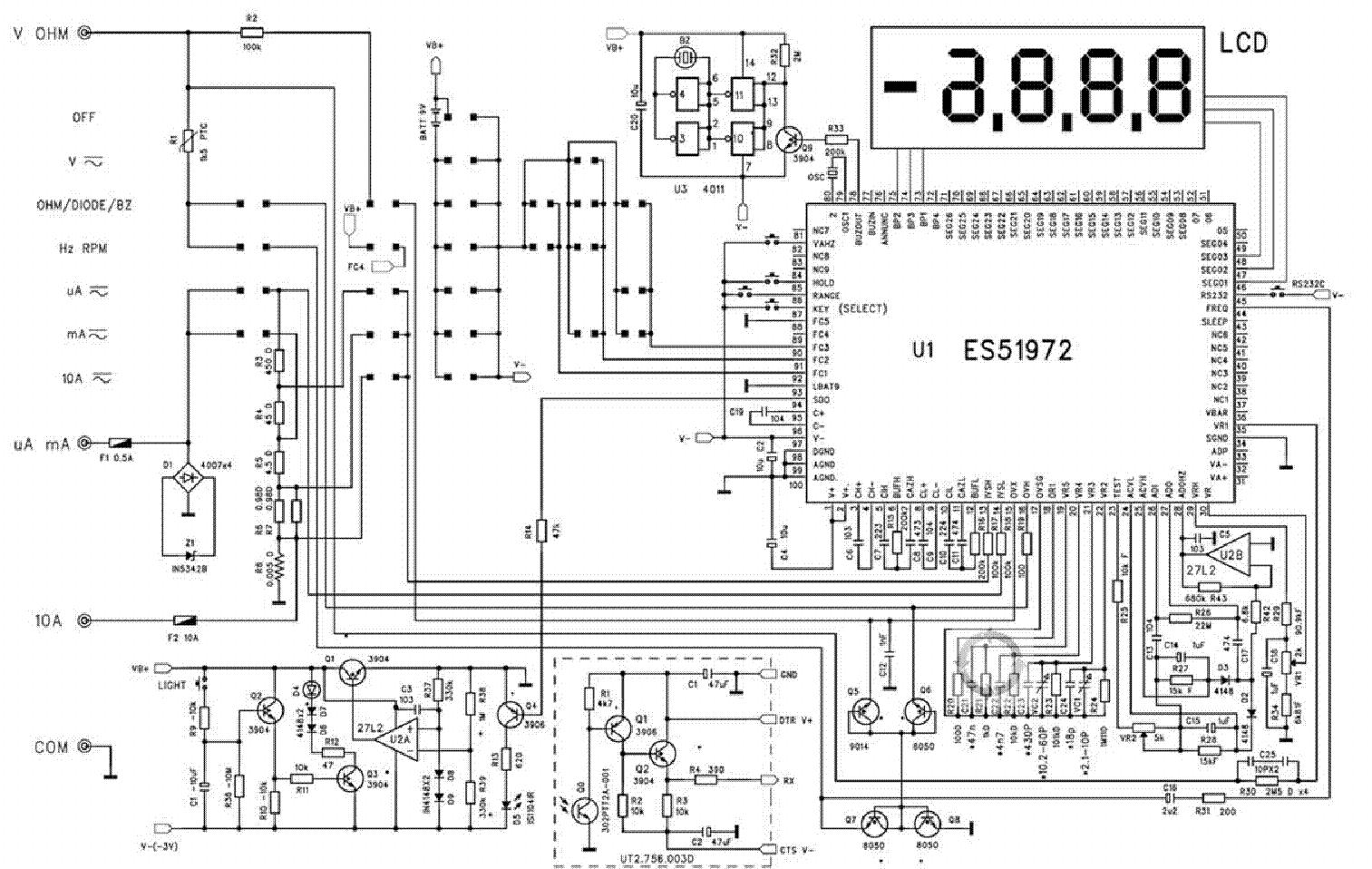 n tesla car circuit diagram