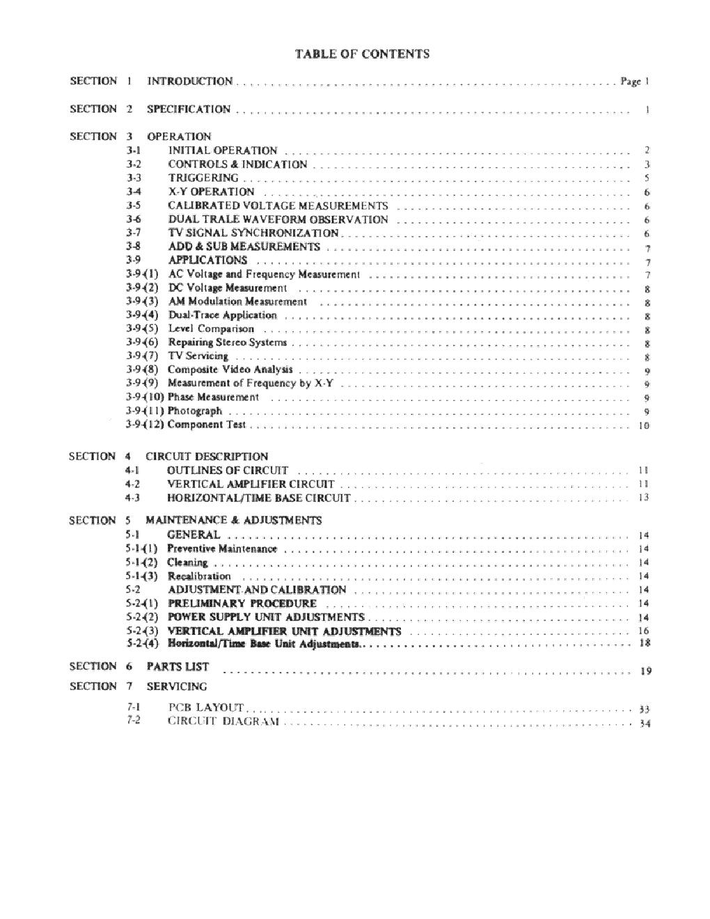Protek Service Manual