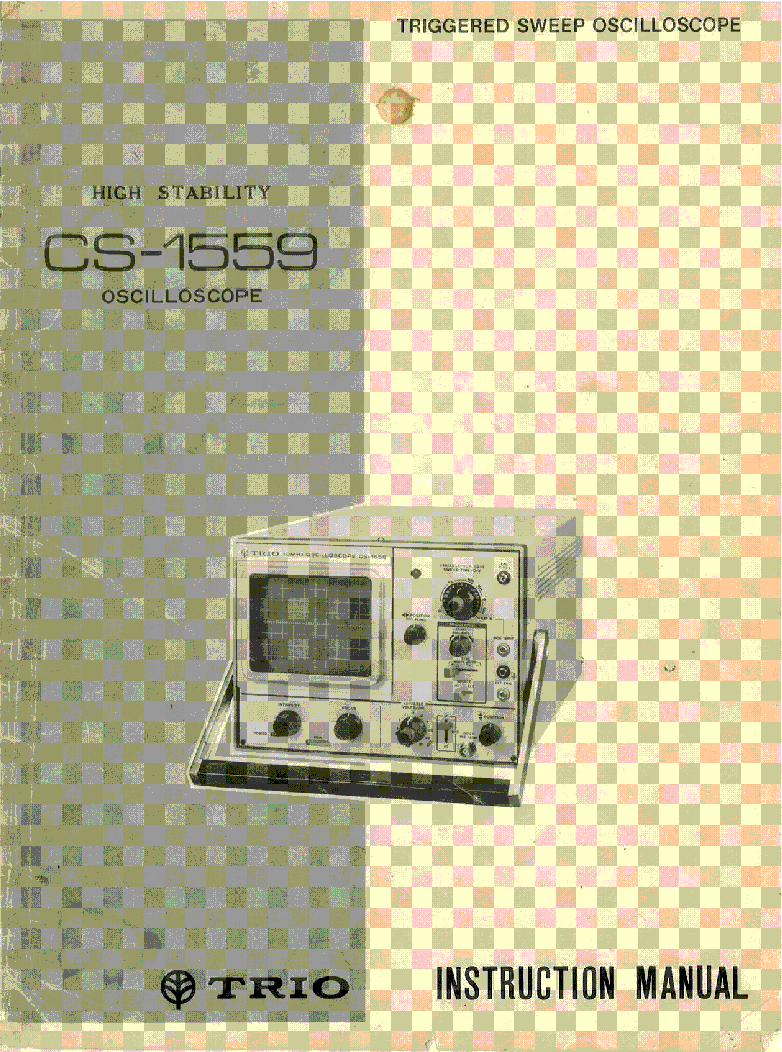 trio cs1560a oscilloscope sm service manual download schematics rh elektrotanya com Word Manual Guide Online User Guide