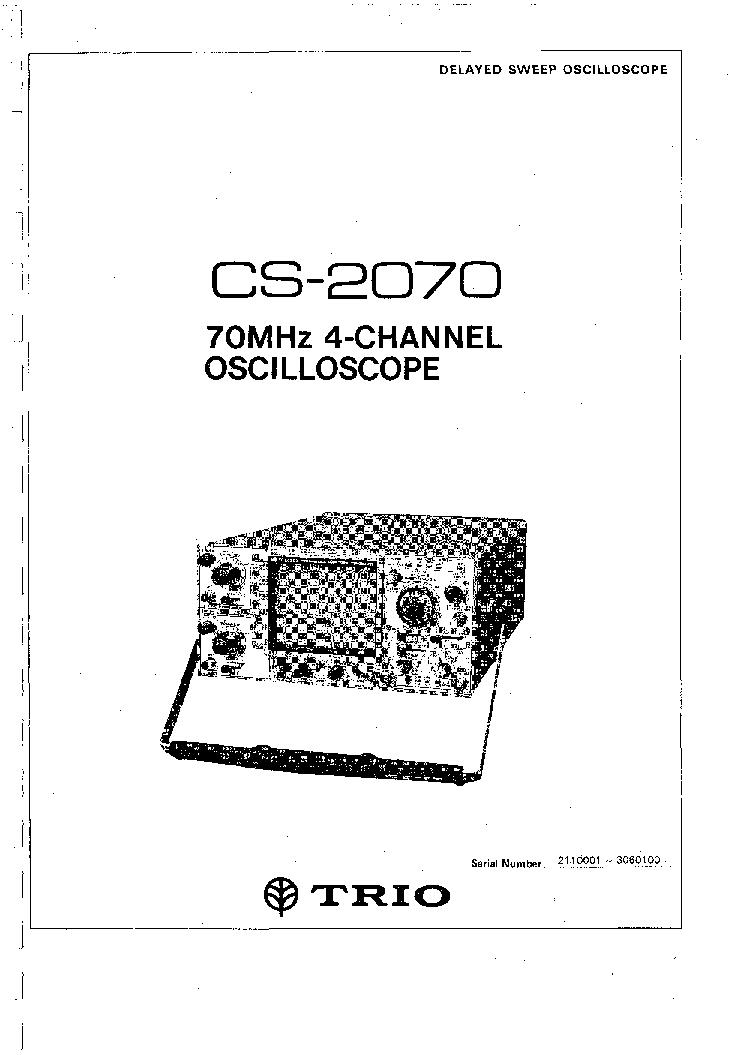 trio kenwood cs 2070 70mhz oscilloscope service manual download rh elektrotanya com Online User Guide Online User Guide