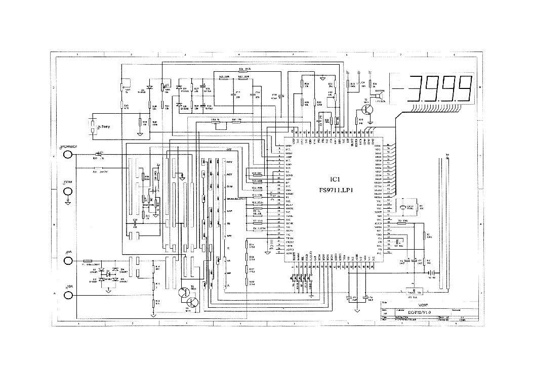 vc97 digital multimeter sch service manual download
