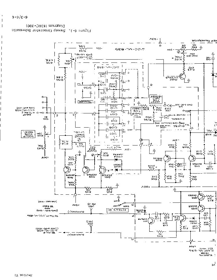 Sweep Generator Schematic