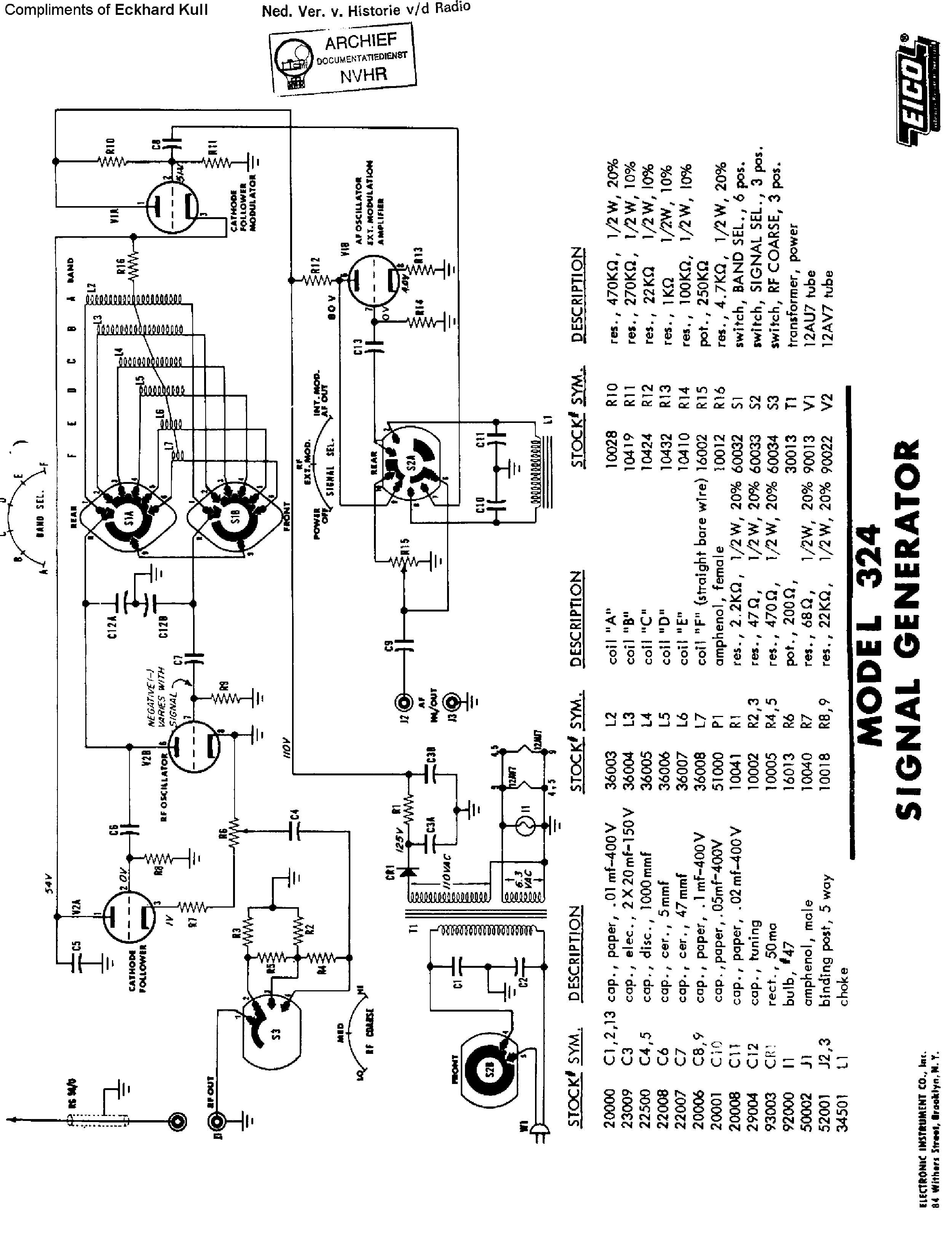 eico 377 audio generator sch service manual download