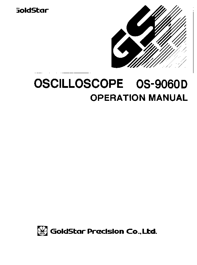 goldstar os 7020a oscilloscope service manual download schematics rh elektrotanya com
