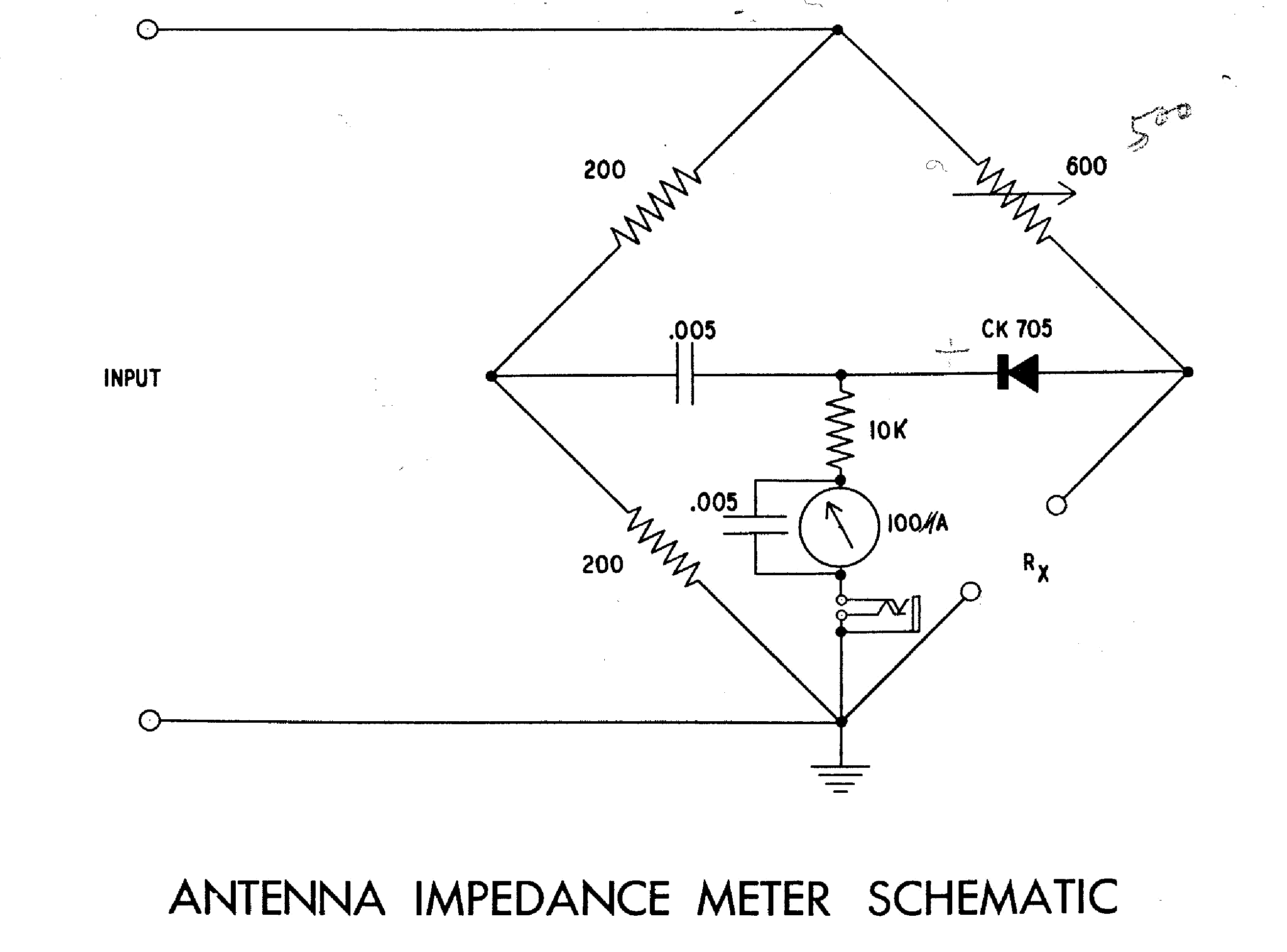 HEATHKIT AM-1-D ANTENNA IMPEDANCE METER SCH service manual