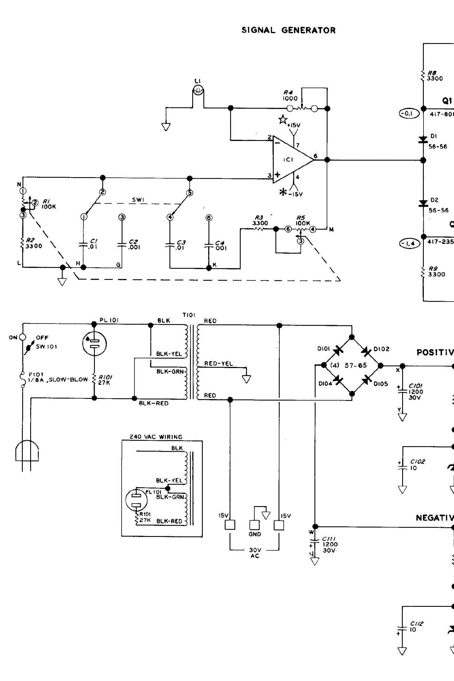 Heathkit Sg8 Signal Generator Sch Service Manual Download