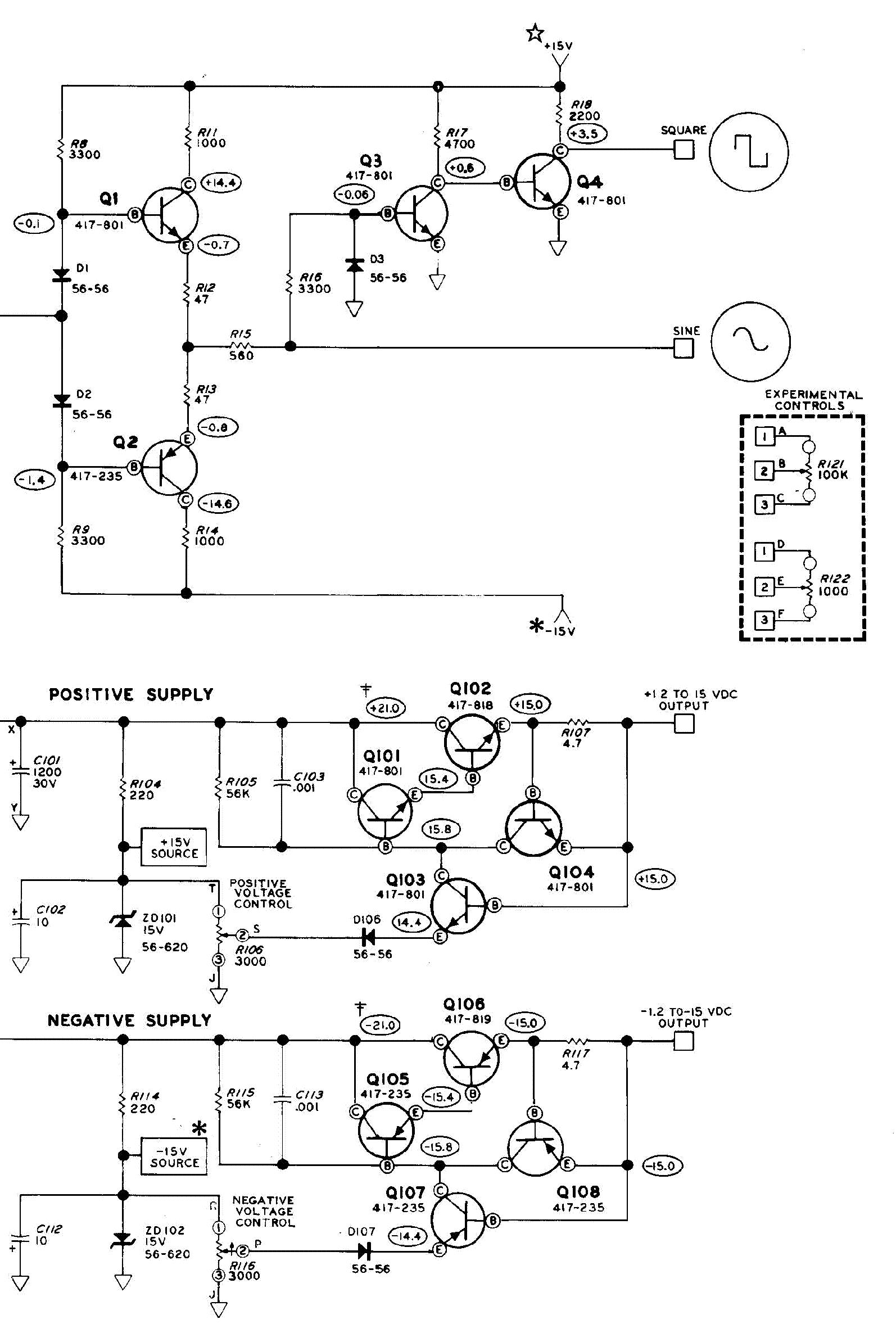 HEATHKIT ET-3100 ELECTRONIC DESIGN-EXPERIMENTER SIGNAL