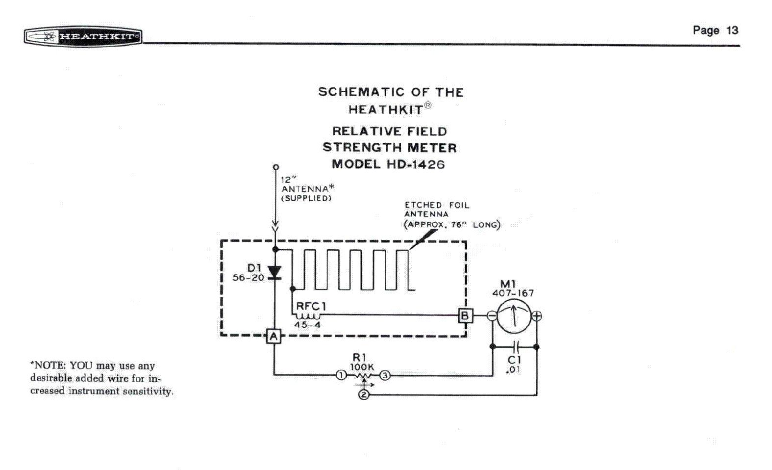 Rffield Detector Circuit Diagram Tradeoficcom