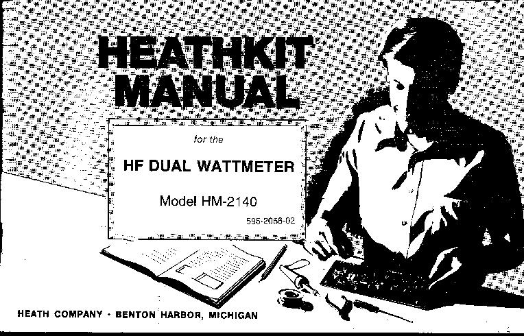 Heathkit manual for hf dual wattmeter model hm-2140 | #135728884.