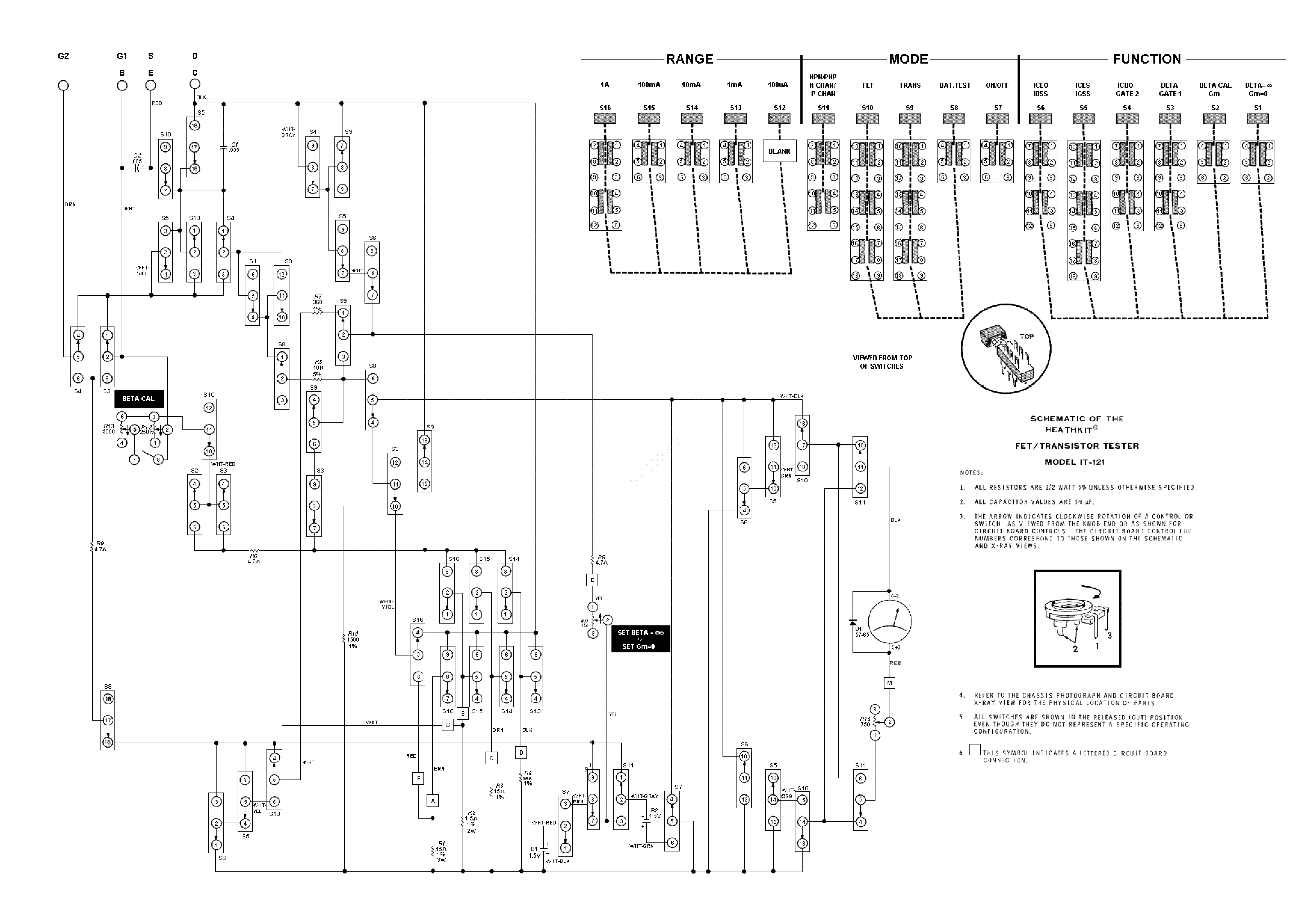 heathkit it121 transistor