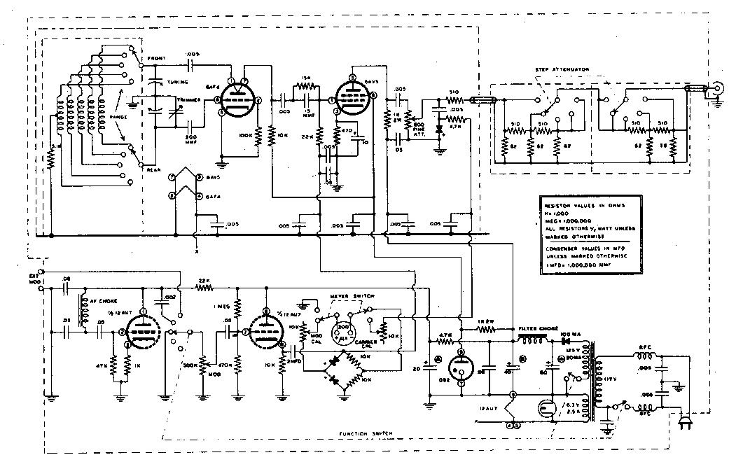Knight Rf Generator Schematics : Heathkit schematics generator knight elsavadorla