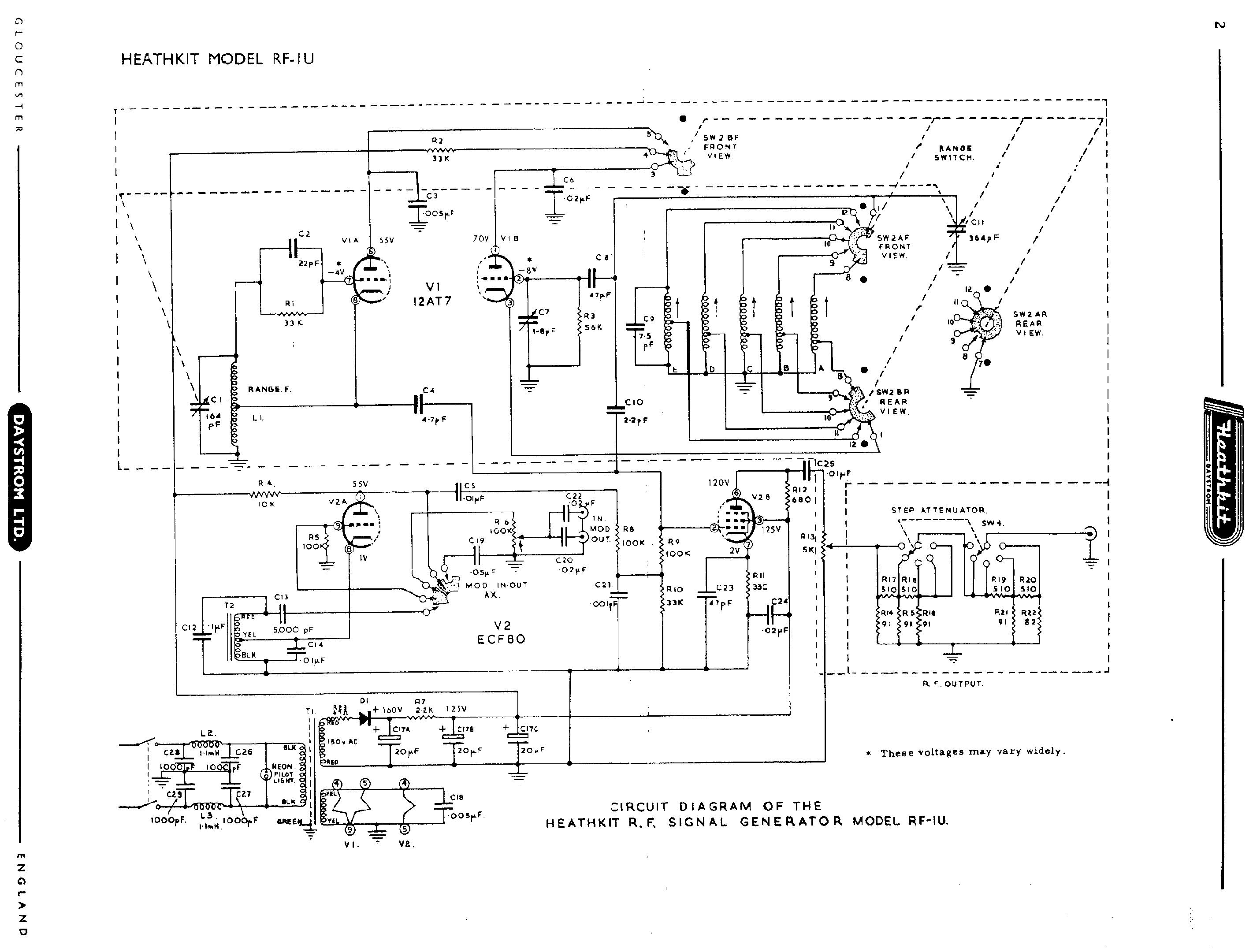 knight rf generator schematics