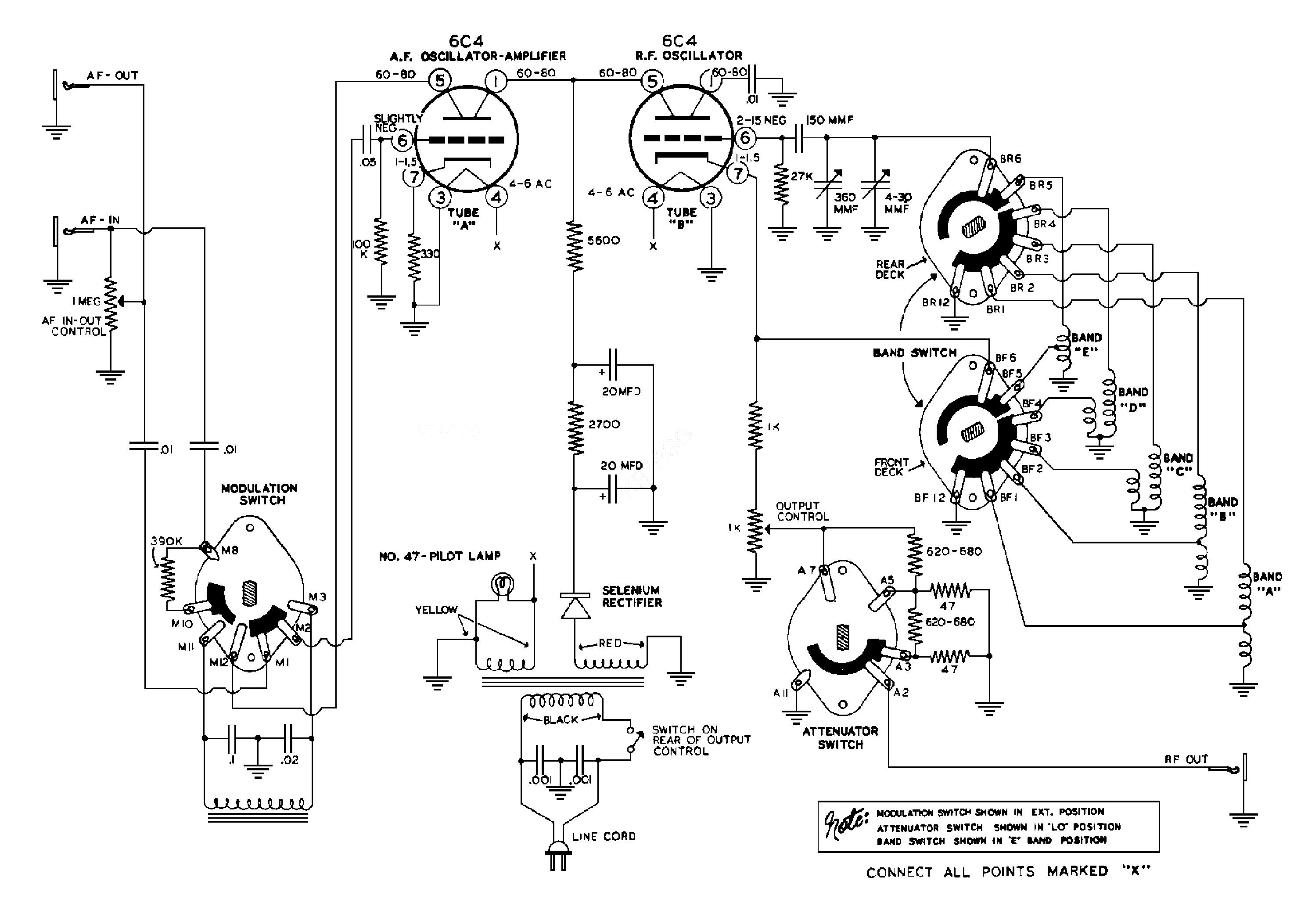 Transformer Wiring Pdf Including Heathkit Rf Signal