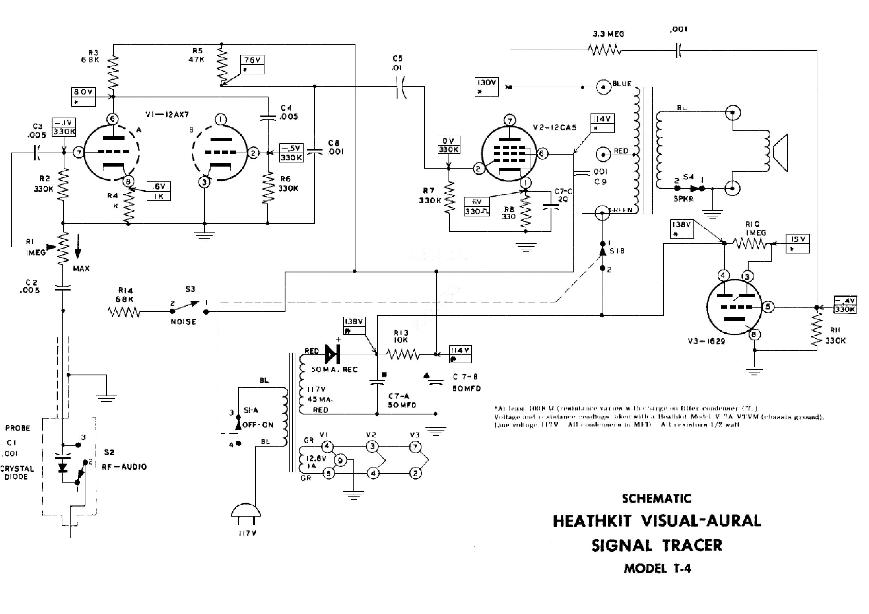 Heathkit t 4 Manual