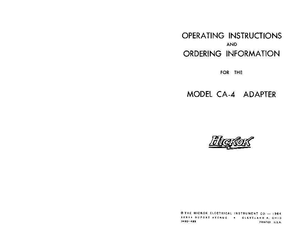 E8257d calibration manual for hickok