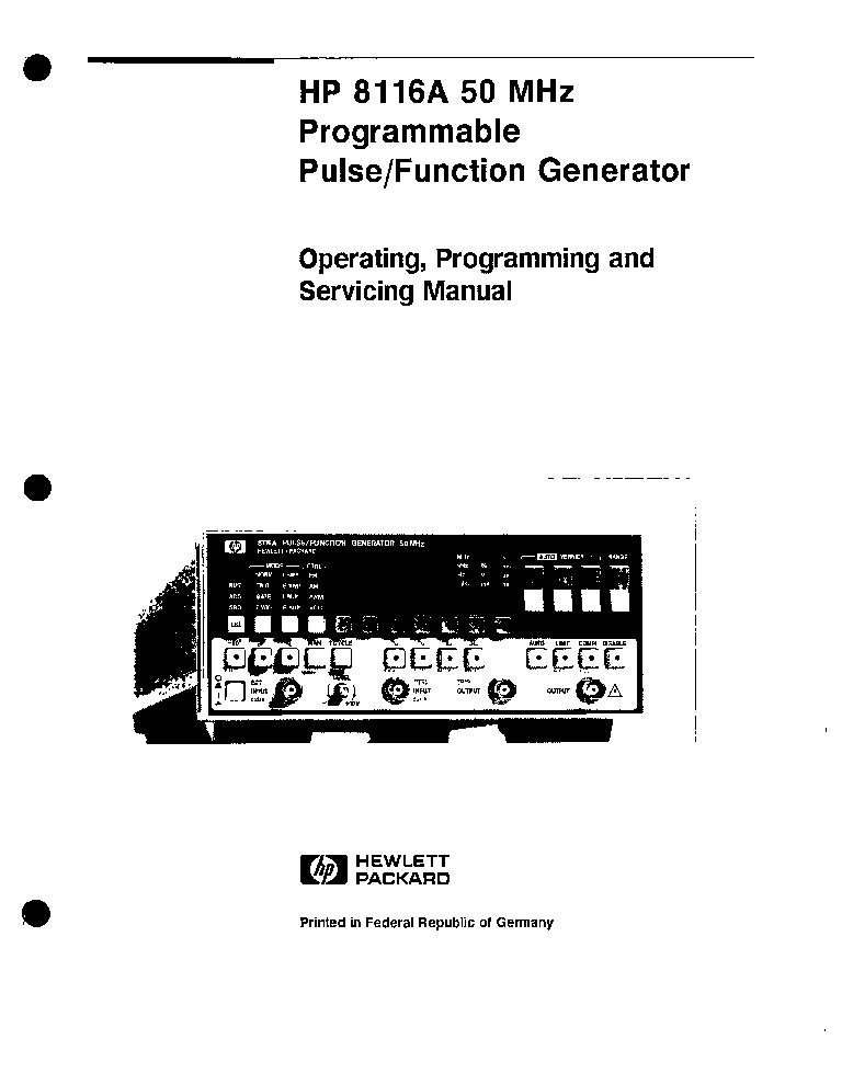 hp 8116a programing sm service manual download schematics eeprom rh elektrotanya com hp 8116a service manual with schematics HP 5343A