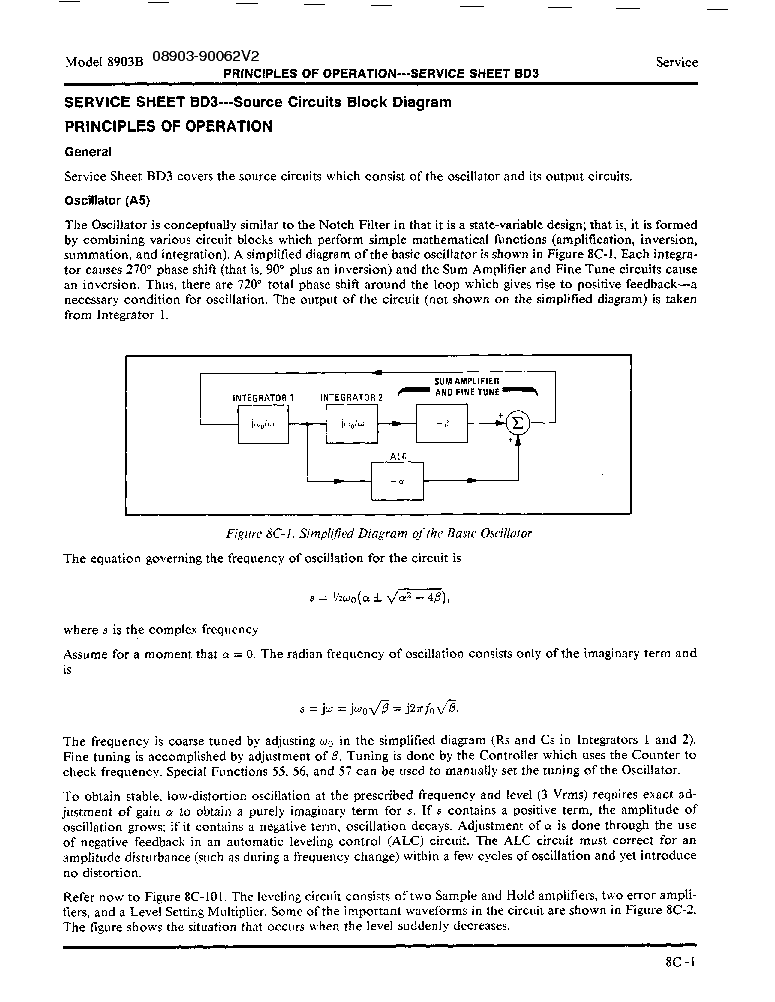 Hp Agilent Technologies 8903b Audio Analyzer Vol2 Service Manual Download Schematics Eeprom Repair Info For Electronics Experts
