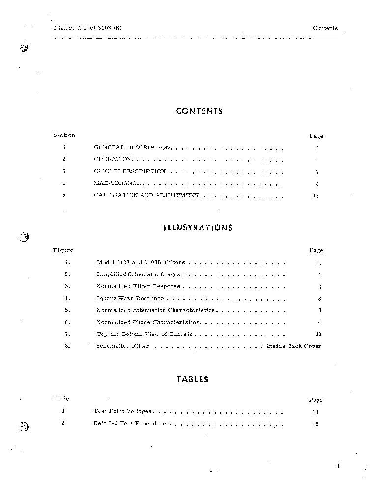 KROHN-HITE 3103-H WIDE-RANGE 10HZ-1MHZ BAND-PASS FILTER 1967 SM