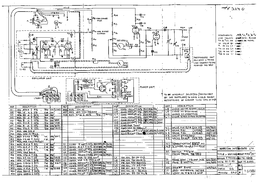 Marconi Tf329g Q