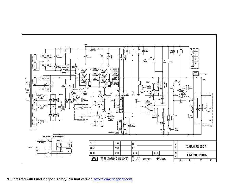 mastech hy3020 sch service manual download  schematics