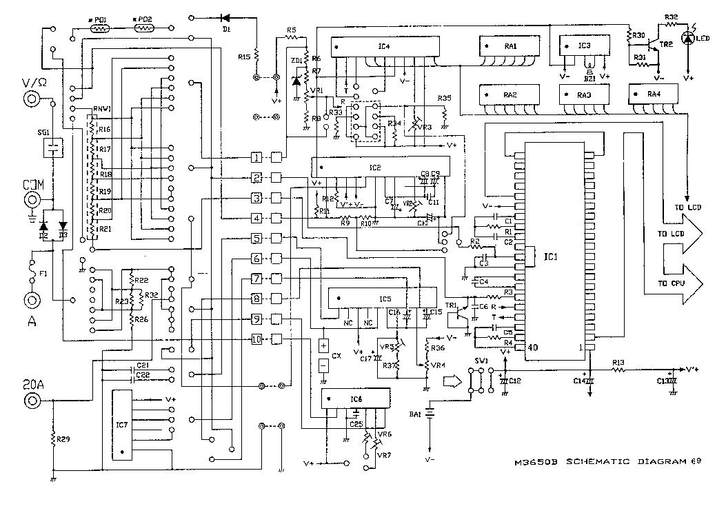 Мультиметр Fluke FLUKE-17B+ ERTA 4404246