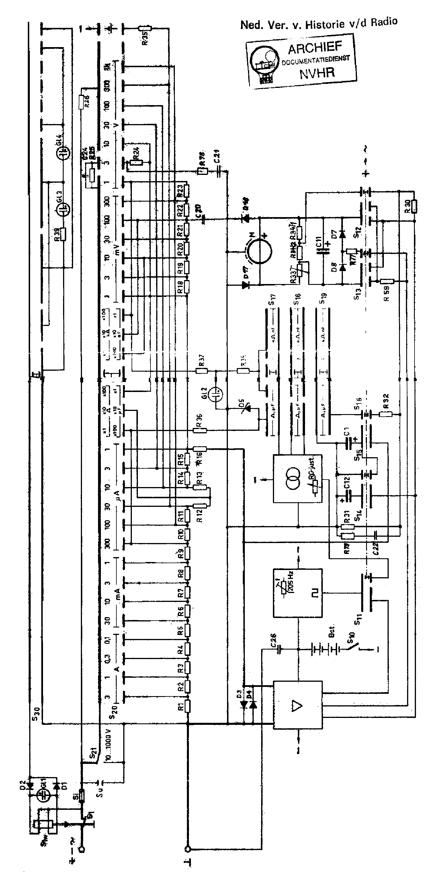 metrawatt unigor 6e analog electronic mm 1973 sch service