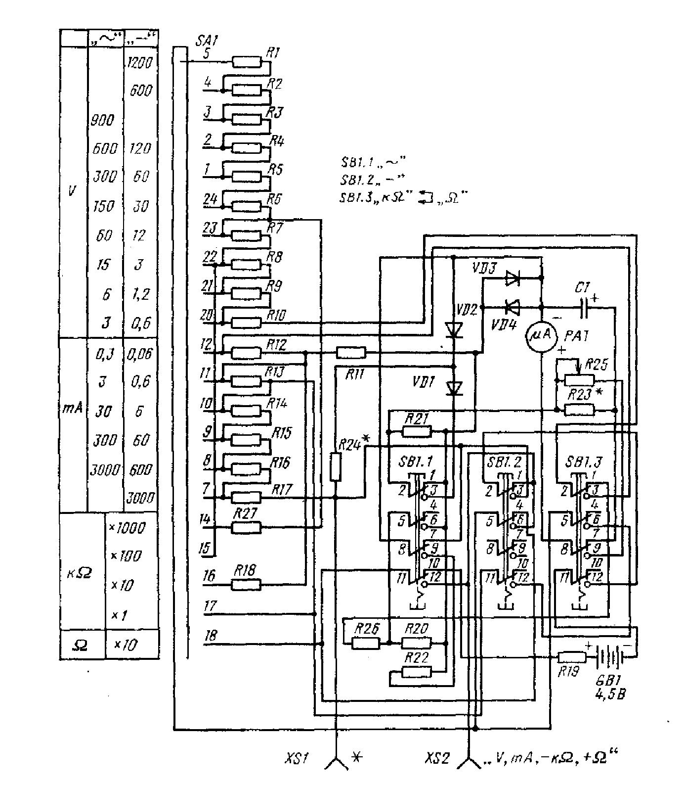 скачать инструкцию по эксплуатации прибора 43101
