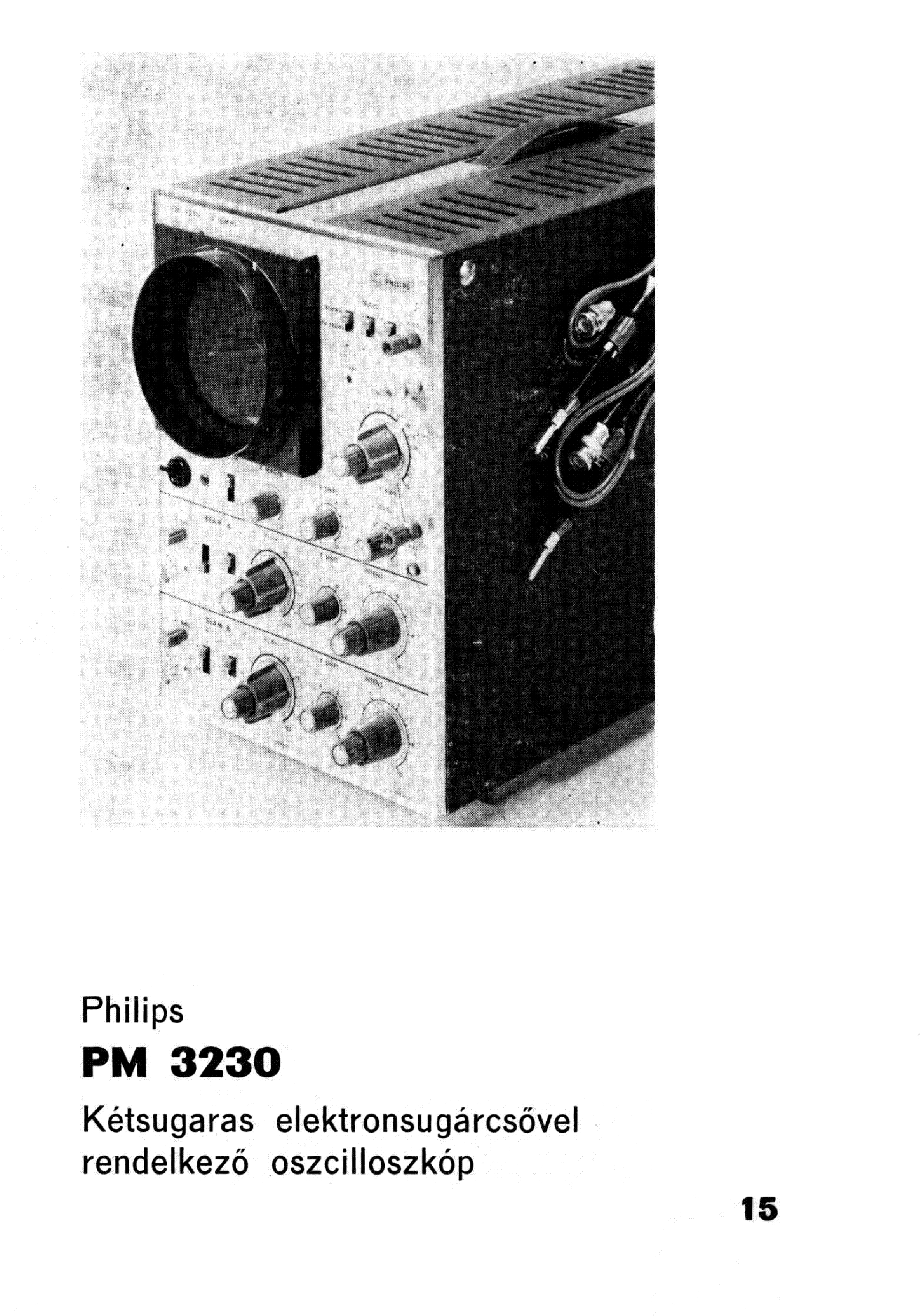 PHILIPS PM-3230 SCH service manual (1st page)