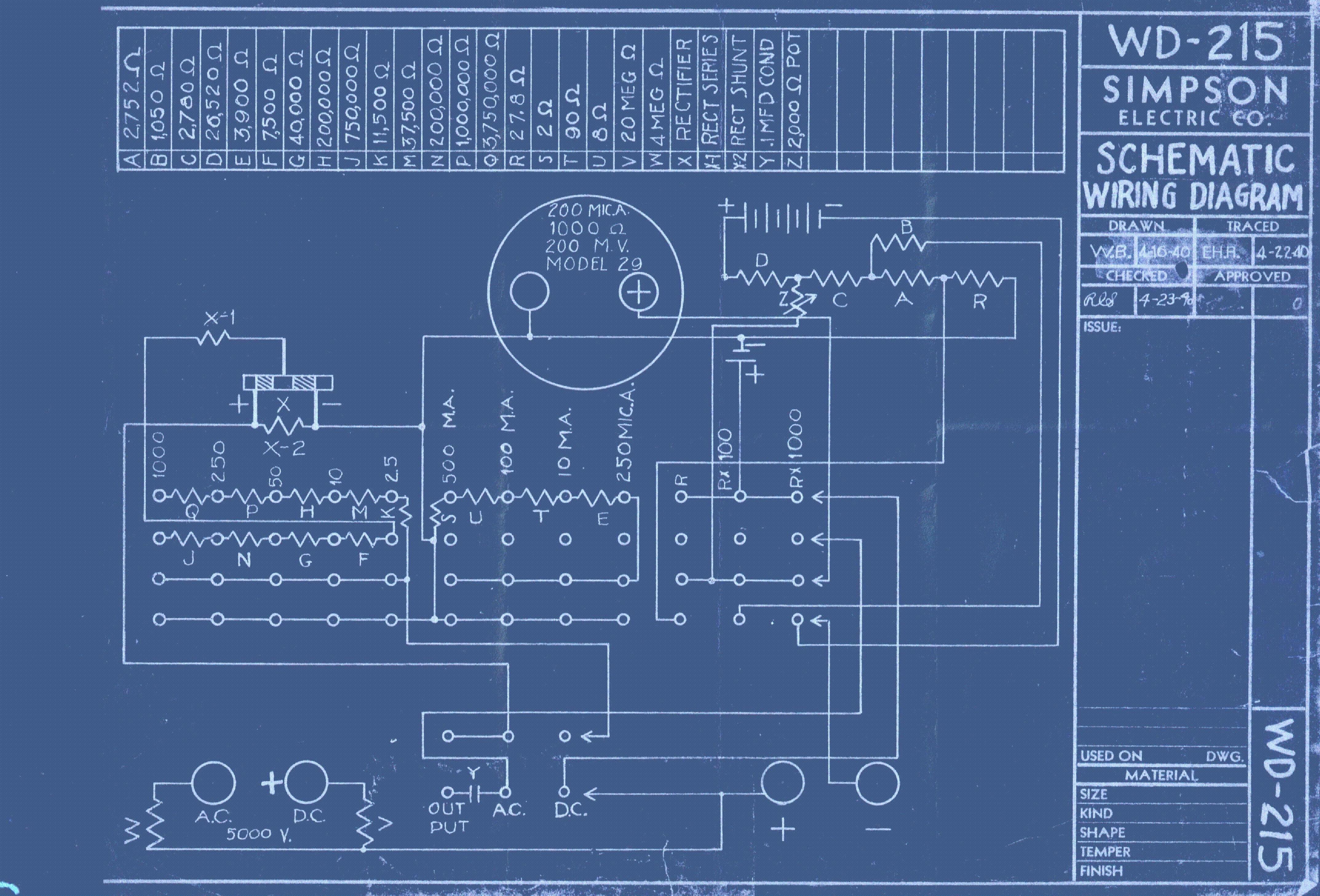 Simpson 313 Fet Vom Operators Manual Service Manual