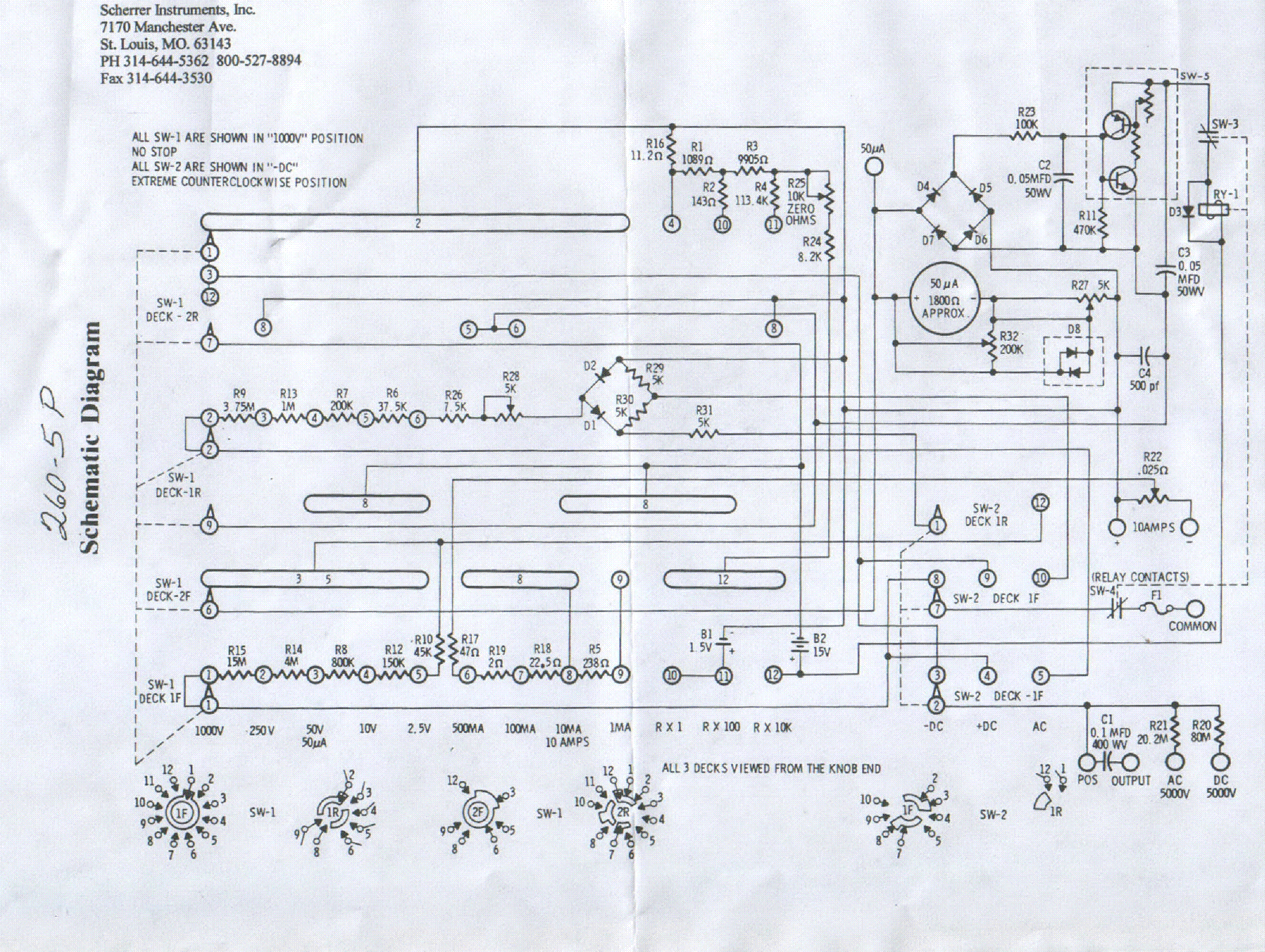 Analog Multimeter Diagram Maintenance Sanwa Yx 360tr Schematic Wiring Download