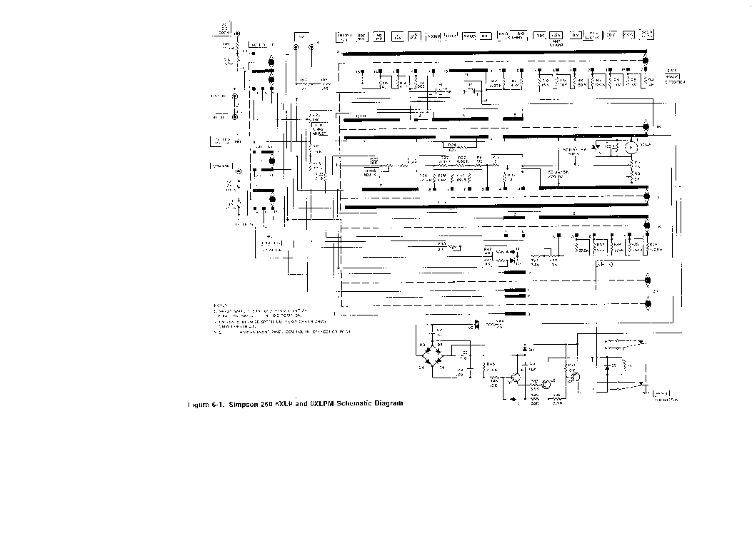 Download on simpson 260 ohm meter schematic
