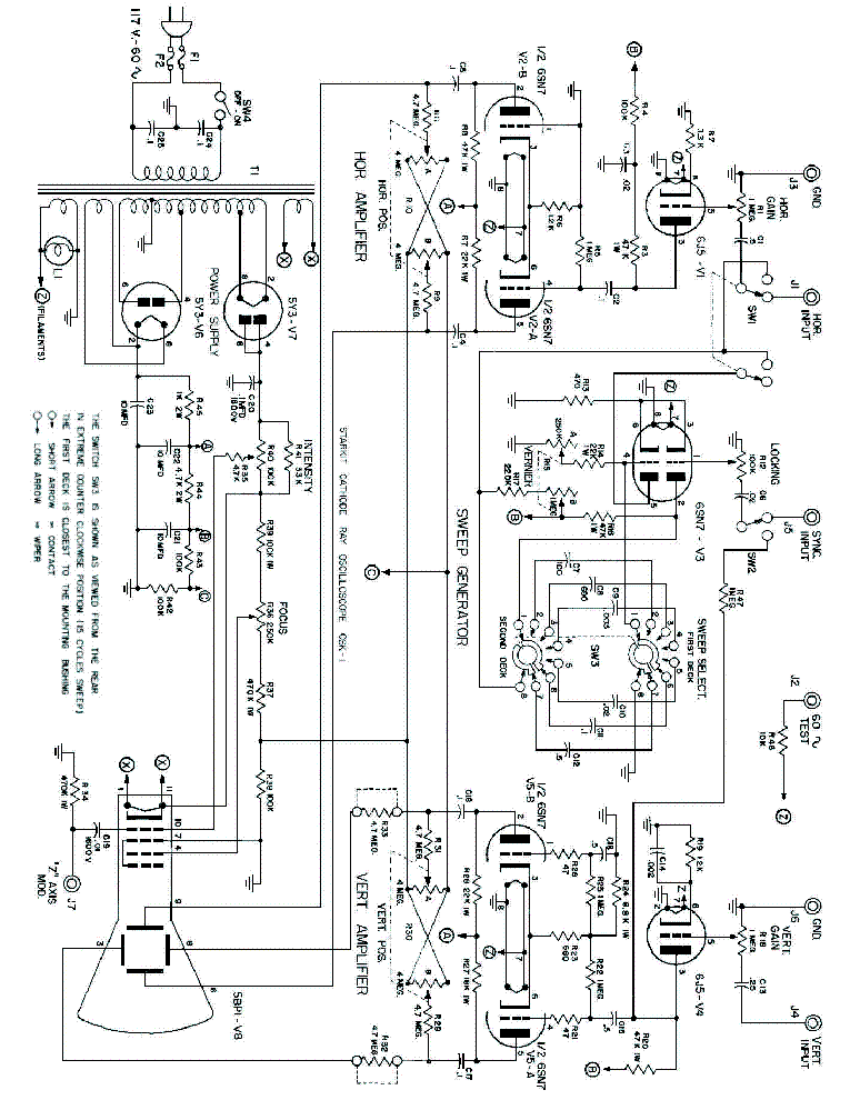 Stark 9 66 Tube Tester Service Manual Download Schematics Eeprom